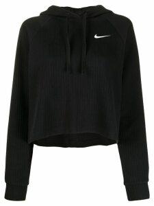 Nike ribbed cotton hoodie - Black