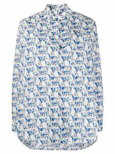PS Paul Smith rabbit print shirt - Blue