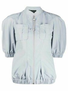 Mr & Mrs Italy short sleeve panelled jacket - Grey