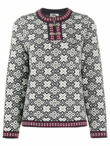 FOLKLOORE Estonian wool jumper - Blue