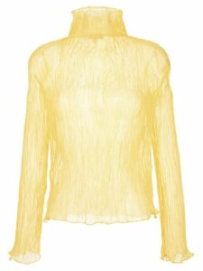 Ellery ruched design blouse - Yellow