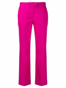PS Paul Smith slim fit cropped trousers - PINK