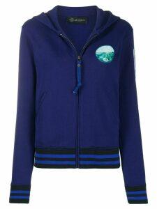 Mr & Mrs Italy logo hoodie - Blue