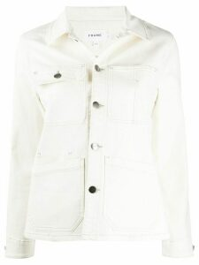 FRAME denim carpenter jacket - NEUTRALS