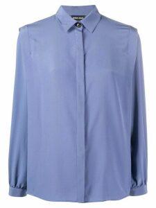 Giorgio Armani relaxed-fit shirt - Blue