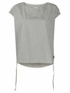 Woolrich striped poplin shirt - White