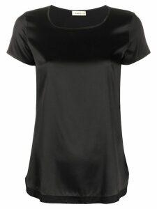 Blanca Vita Tania silk T-shirt - Black