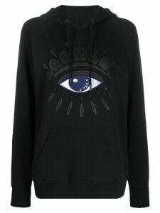 Kenzo Eye motif hoodie - Black