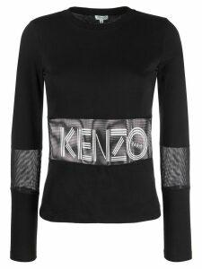 Kenzo graphic print T-shirt - Black