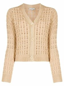 Vince knitted long-sleeve cardigan - NEUTRALS