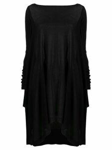 Rick Owens knitted handkerchief jumper - Black