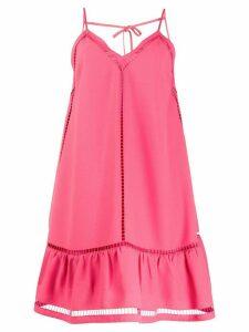 RedValentino cutout short dress - PINK