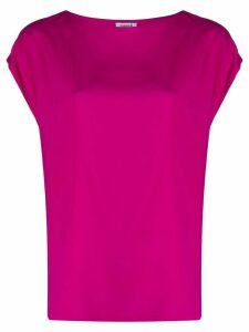 P.A.R.O.S.H. sleeveless fitted top - PINK