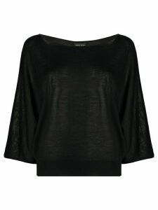 Roberto Collina relaxed-fit blouse - Black
