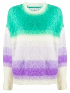 Isabel Marant Étoile striped jumper - Green