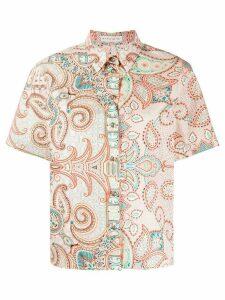 Etro paisley-print shirt - PINK