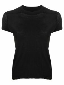 Rick Owens DRKSHDW short sleeve stretch fit T-shirt - Black