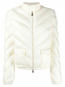 Moncler padded jacket - White