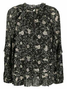 Isabel Marant Étoile Eyden floral-print blouse - Black