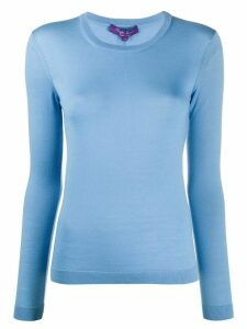 Ralph Lauren Collection crew neck cashmere jumper - Blue