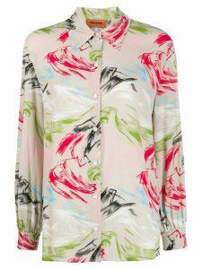 Missoni abstract print shirt - NEUTRALS