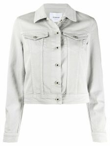 Dondup slim-fit denim jacket - Grey