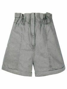 IRO Clichy denim shorts - Grey
