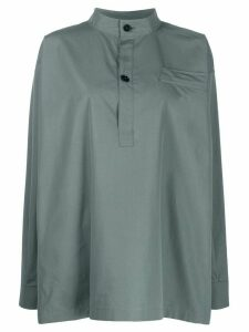 Jil Sander Marianne oversized shirt - Grey