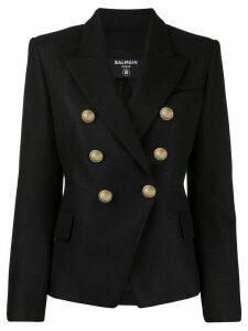 Balmain single-breasted blazer - Black