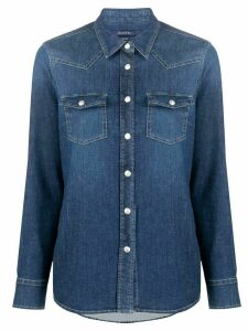 Jacob Cohen denim long sleeve shirt - Blue