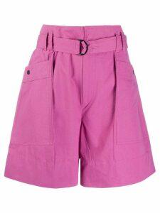 Isabel Marant Étoile Zayna high-waisted shorts - PINK