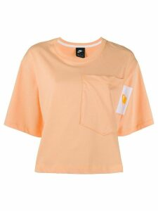 Nike boxy fit short T-shirt - ORANGE