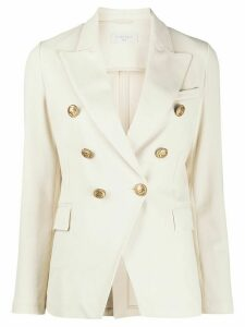Circolo 1901 fitted buttoned blazer - NEUTRALS