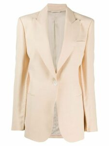 Acne Studios single-breasted sleeve-seam blazer - NEUTRALS