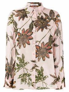Dorothee Schumacher lightweight floral shirt - PINK