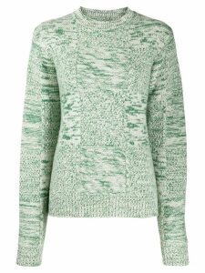 Jil Sander Eco oversized cashmere jumper - Green