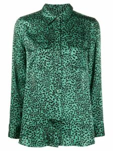 Equipment printed blouse - Green