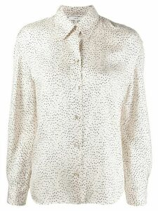 Vince dotted print shirt - White