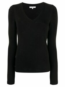 Vince fine knit jumper - Black