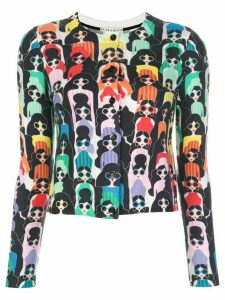 Alice+Olivia Ruthy print cardigan - Multicolour