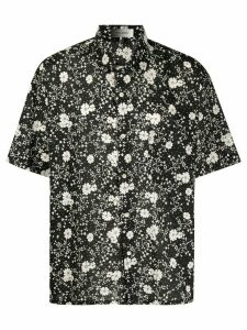 Isabel Marant floral-print short sleeved shirt - Black