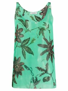 Dorothee Schumacher scoop-neck vest top - Green