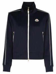 Moncler Maglia zip-up track jacket - Blue