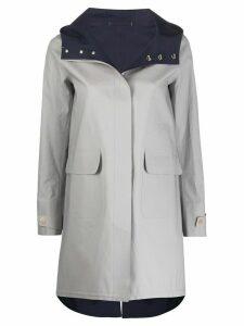 Herno bonded-seam hooded raincoat - Grey