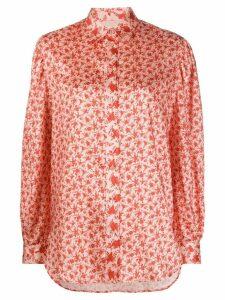 Drome floral print blouse - NEUTRALS