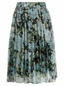 P.A.R.O.S.H. floral print skirt - Blue