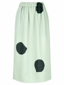 Tibi polka dot pull-on skirt - Blue