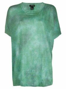 Avant Toi tie-dye print T-shirt - Green