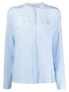Essentiel Antwerp Vanne oversized blouse - Blue