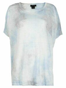 Avant Toi tie-dye print T-shirt - Blue